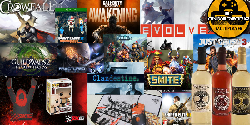 3º Aniversario de Go Multiplayer