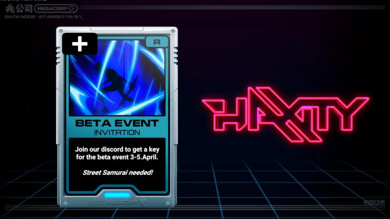 Haxity Beta Invite.png